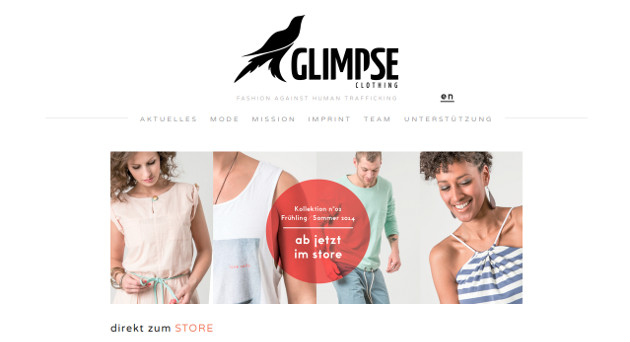 glimpse clothing