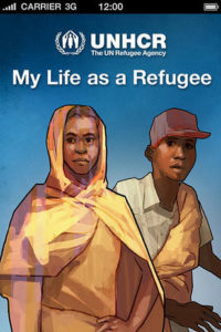 my life as a refugee